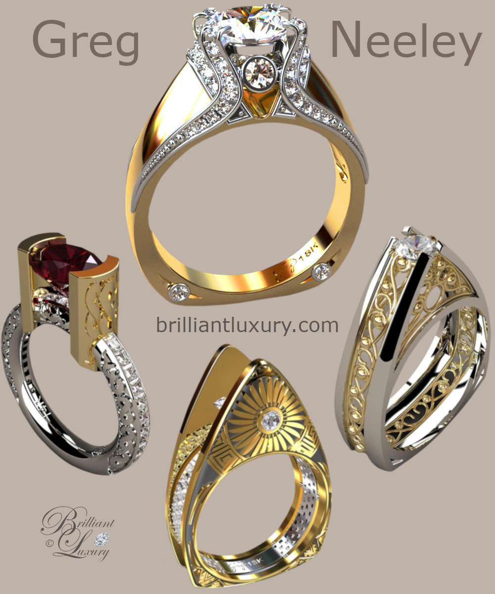Greg Neeley Bridal Jewelry Wedding Rings