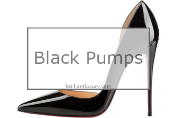 Brilliant Luxury│Black Pumps