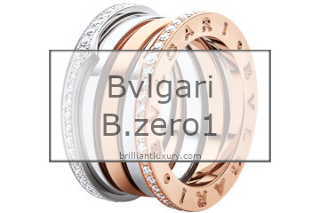 Brilliant Luxury│Bvlgari B.zero1 ring collection