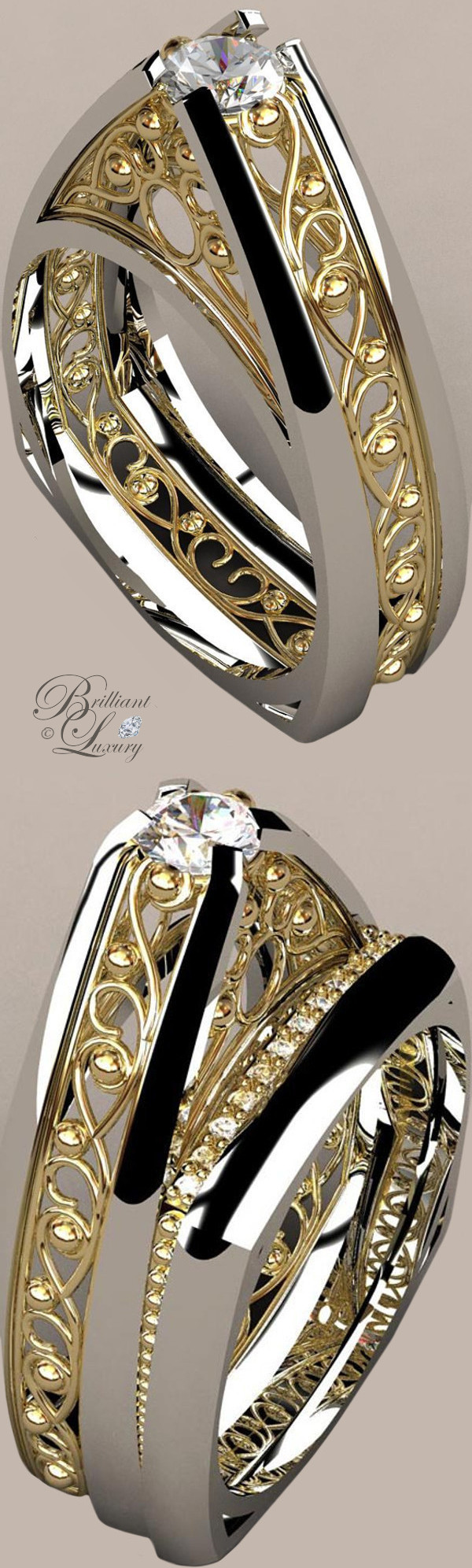 Greg Neeley Bridal Jewelry Pinnacle Wedding Rings
