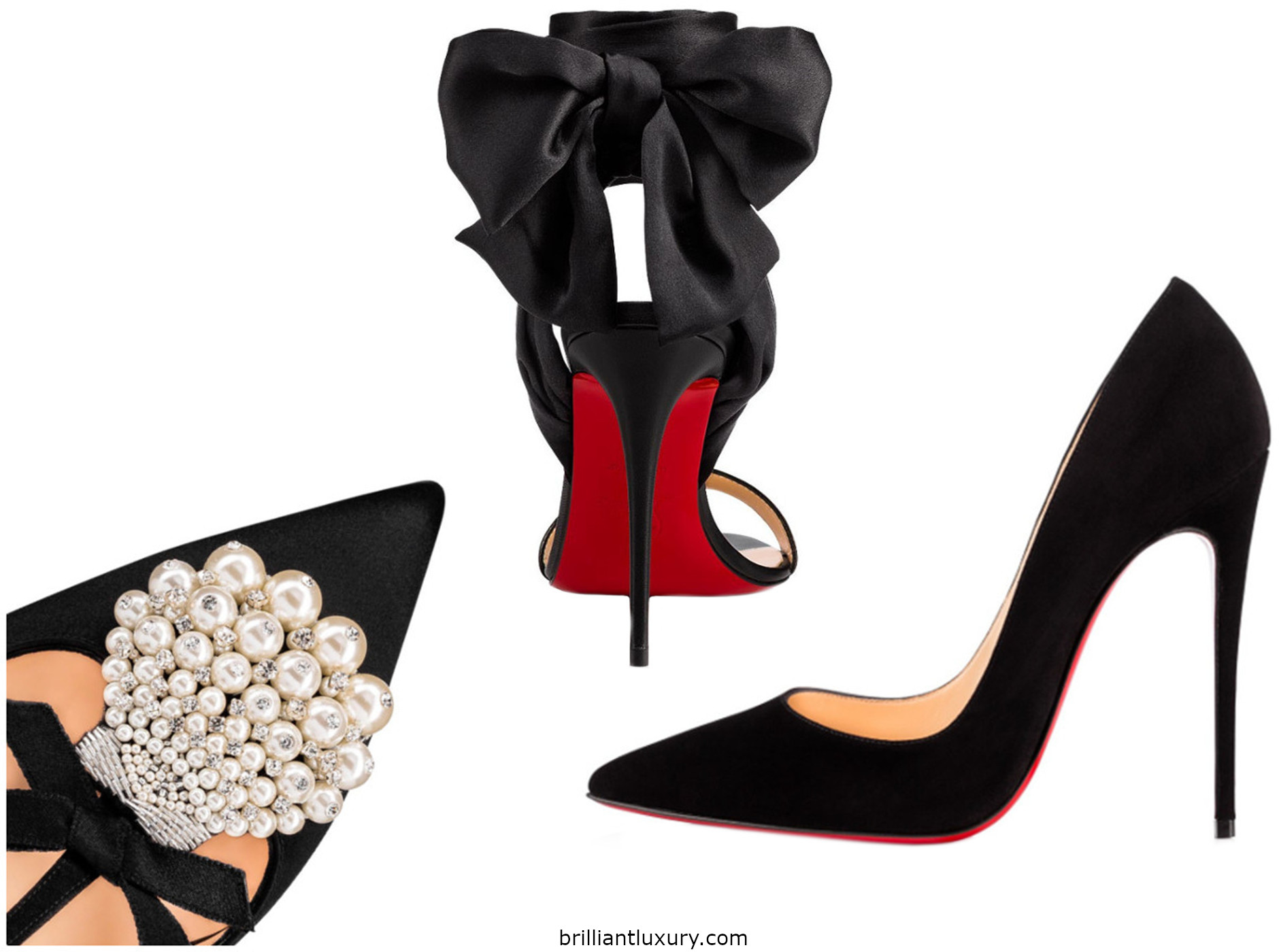 Brilliant Luxury Black Pumps