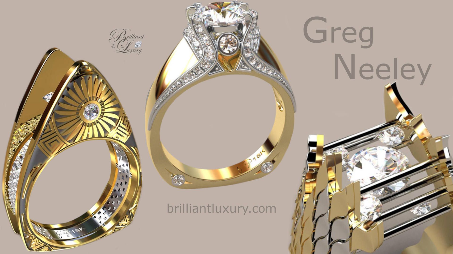 Greg Neeley Bridal Jewelry