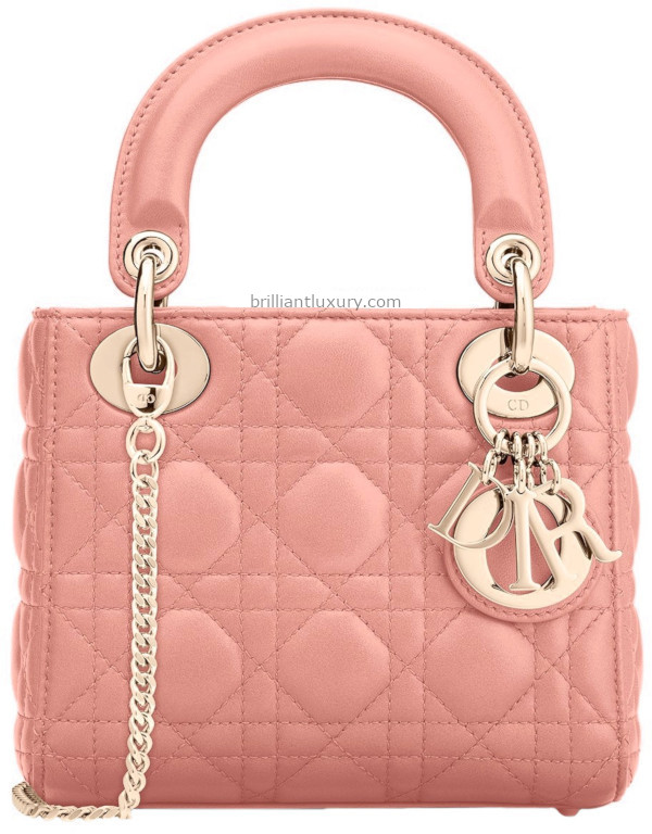 Sugar Pink Lady Dior Bag
