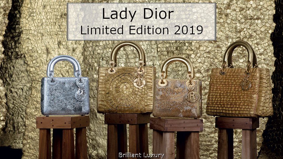 Brilliant Luxury│Lady DIOR Art Bags│Limited Edition 2019