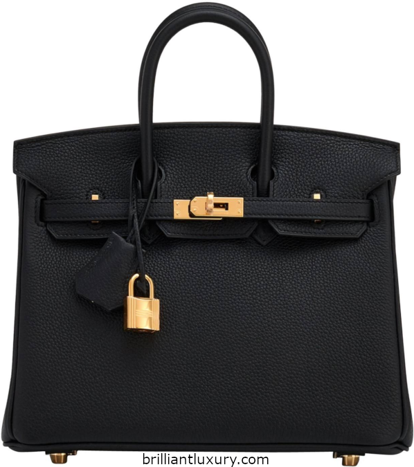 Classic Hermès Birkin Bag in black 2018