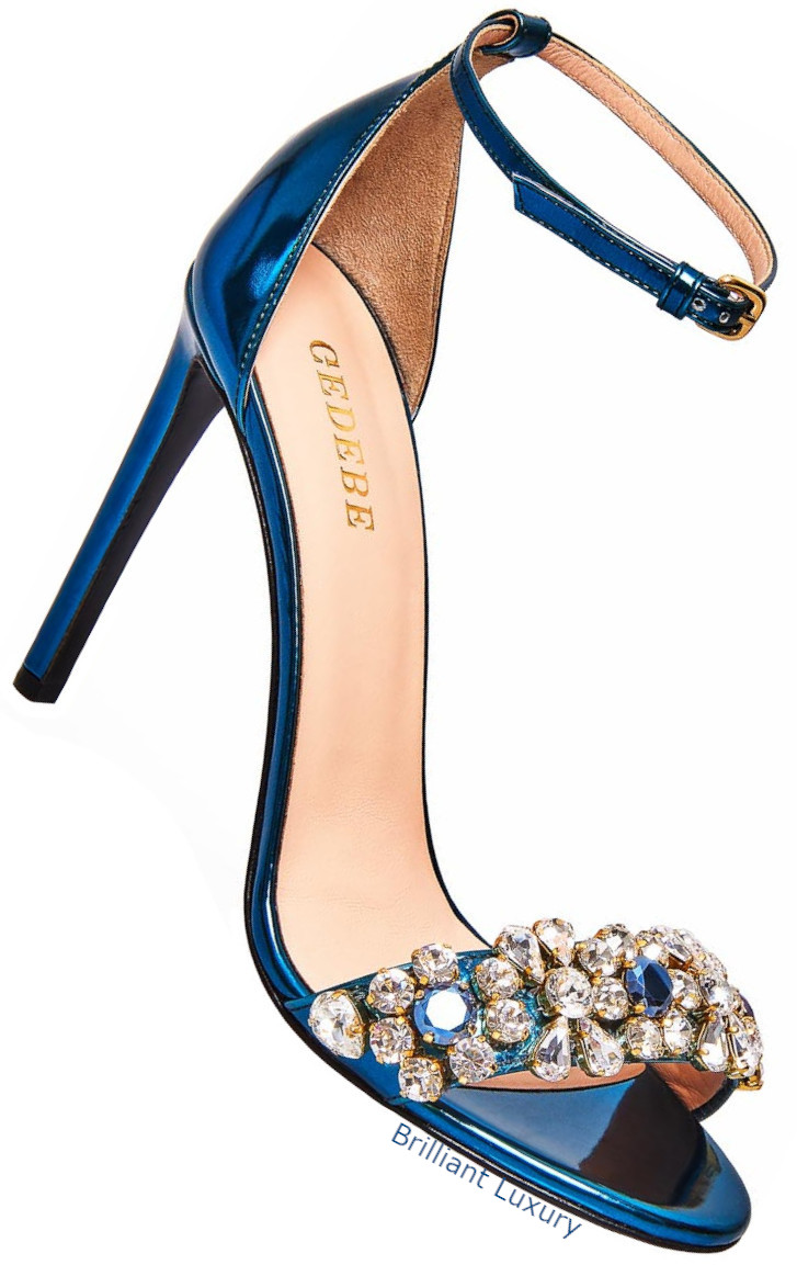 Gedebe New Charlize high heel sandals in blue