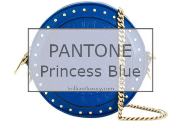 Brilliant Luxury│Pantone Fashion Color 2019│Princess Blue│Bags