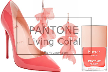 Brilliant Luxury│Pantone Fashion Color 2019│Living Coral