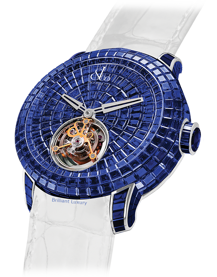 Jacob & Co. Caviar Tourbillon timepiece watch