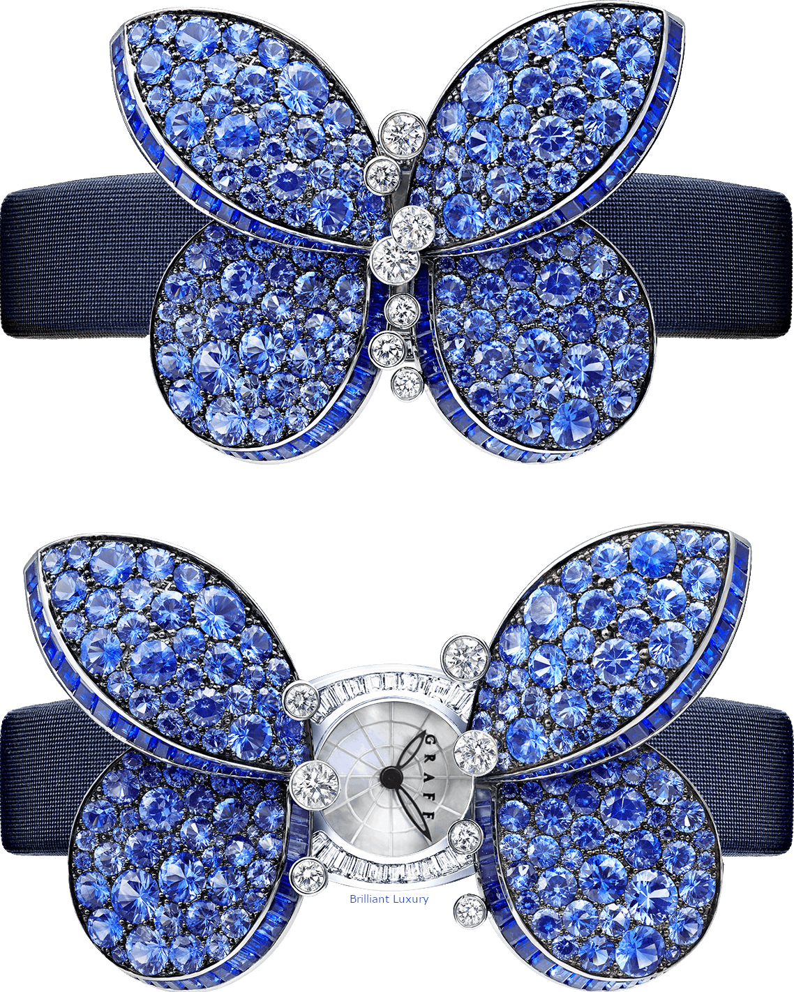 Graff secret watch Princess Butterfly