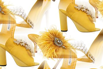 Pantone Fashion Color 2019 Aspen Gold Shoes