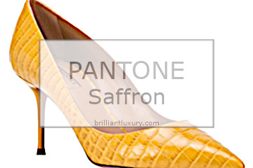 Brilliant Luxury Pantone Color Saffron