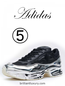 10 Hottest Men's Products 3-2019 Lyst Index Adidas by Raf Simons Ozweego sneakers