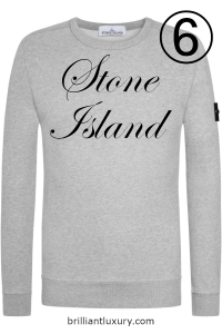 10 Hottest Men's Products 3-2019 Lyst Index Stone Island logo patch sweatshirt