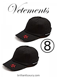 10 Hottest Men's Products 3-2019 Lyst Index Vetements embroidered cap