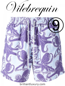 10 Hottest Men's Products 3-2019 Lyst Index Vilebrequin octopus print swim shorts