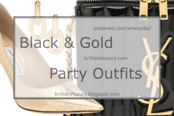 Black & Gold Party Outfits