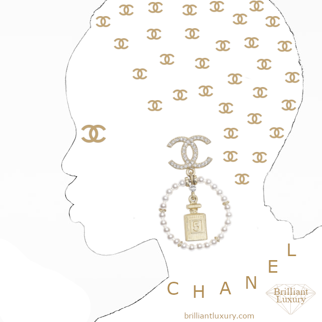 Illustration created by Emmy DE for Brilliant Luxury CHANEL Costume Jewelry I @brilliantluxury.com