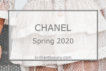 CHANEL Fashion & Accessories Spring 2020