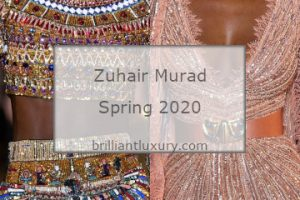 Zuhair Murad Spring 2020 Couture #fashion