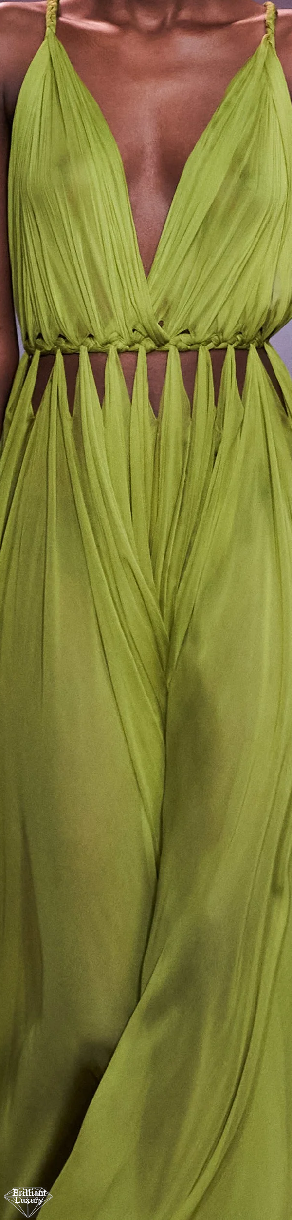 Dior Green Gown #fashion