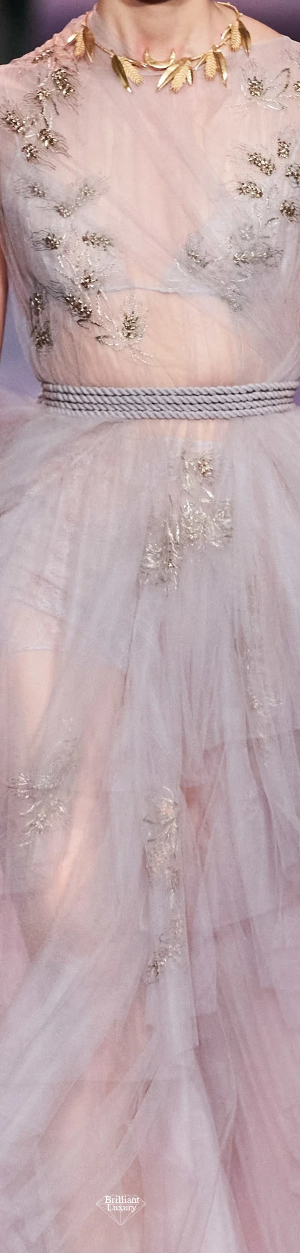 Dior Chiffon Couture Gown Spring 2020 #fashion