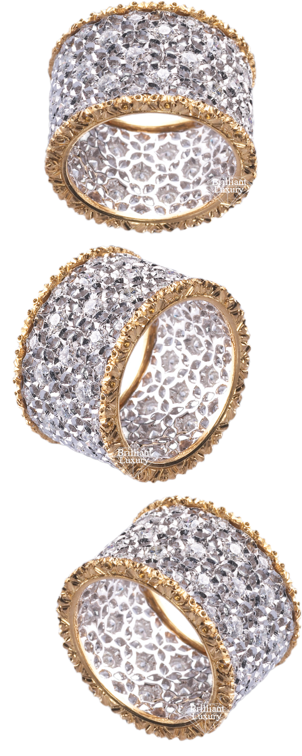Buccellati Scacchi Ring #brilliantluxury