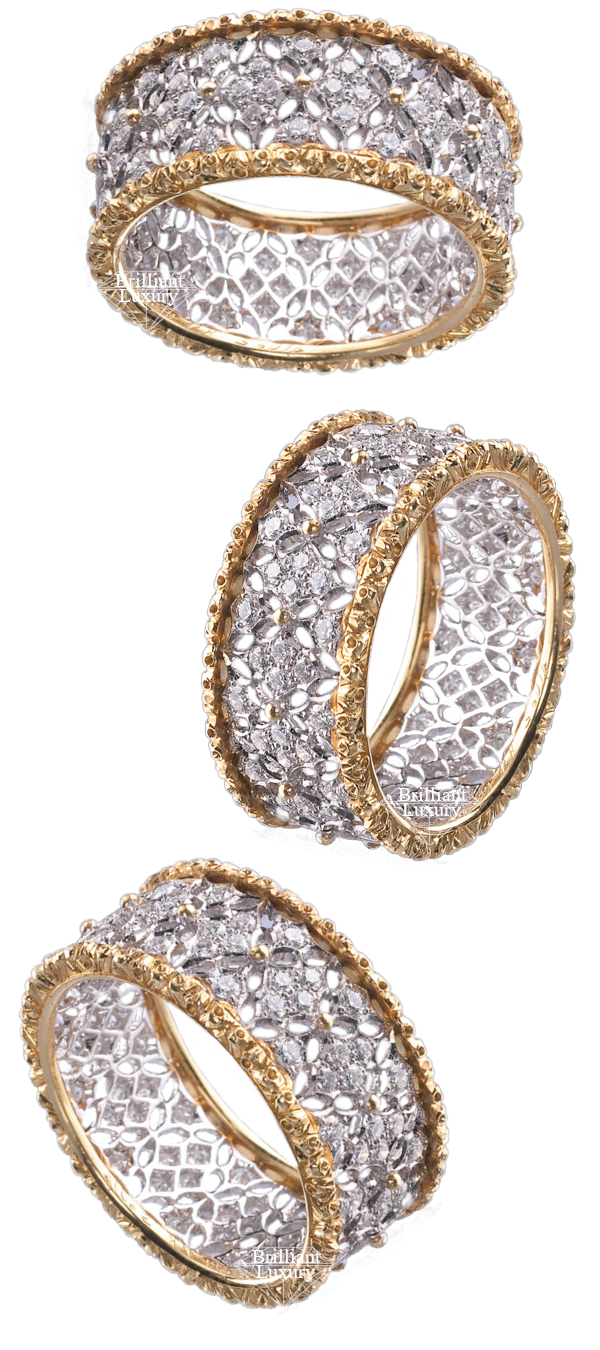 Buccellati Vietri Ring #brilliantluxury