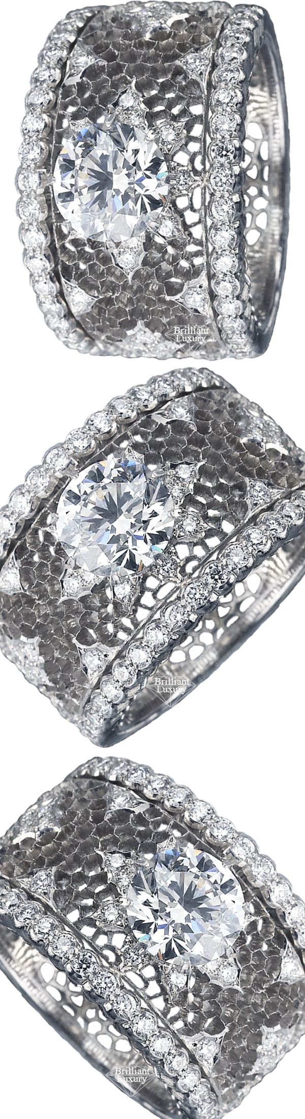 Buccellati Ginevra Ring #brilliantluxury