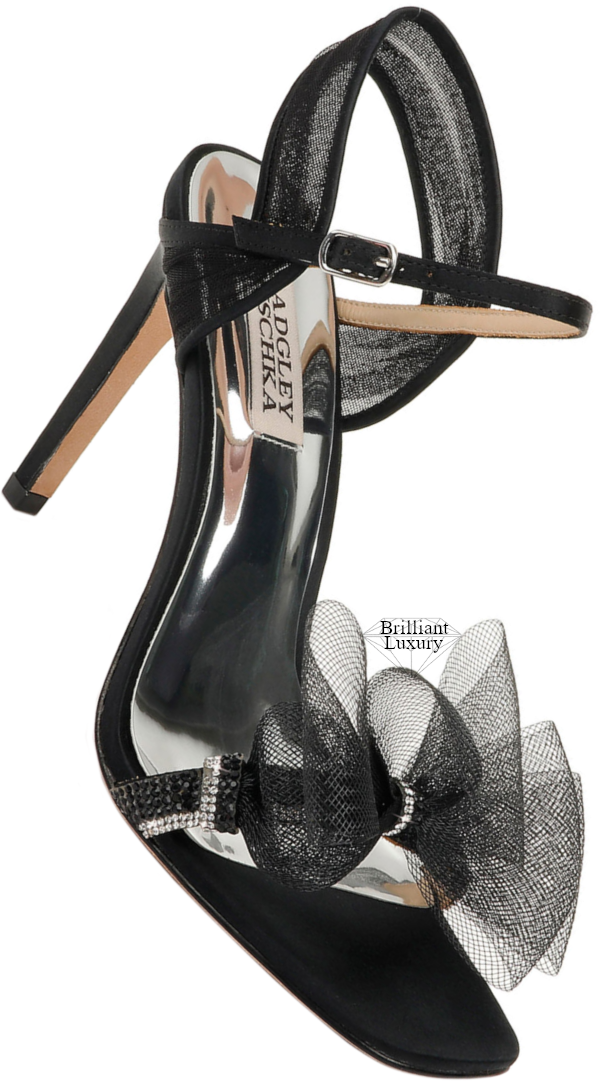 Badgley Mischka Jessica Sandals with Bow