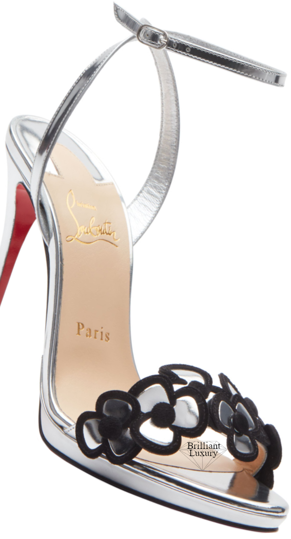 Christian Louboutin Pansy Queen Red Sole Sandals
