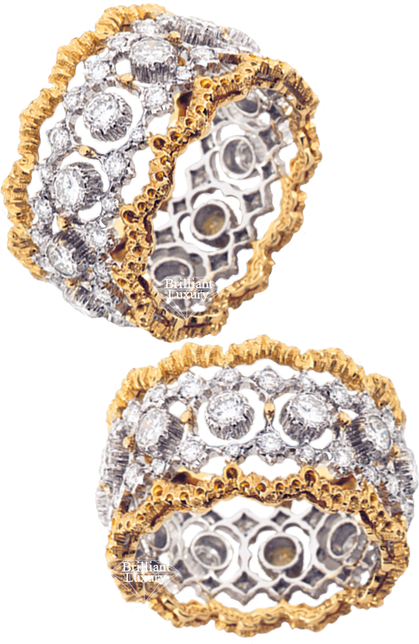 Buccellati Cinesina Ring #brilliantluxury