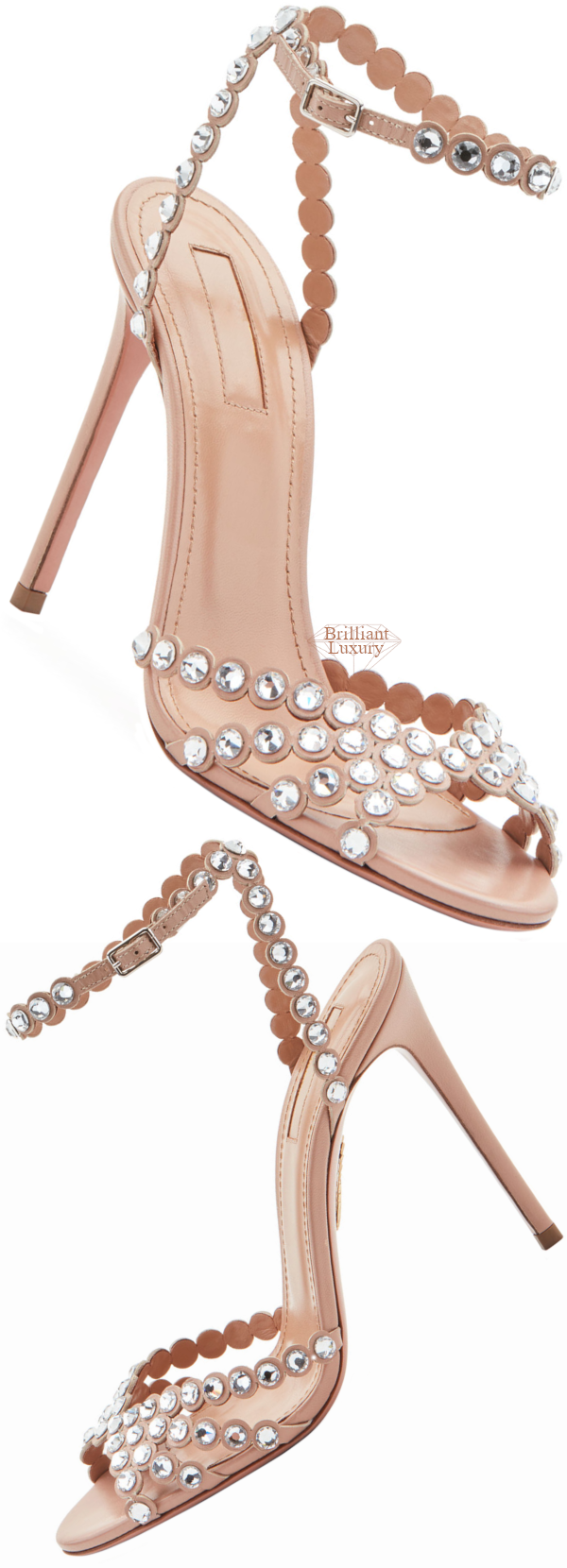 Shoe Collection Spring 2020 Aquazzura Tequila Embellished High Sandals