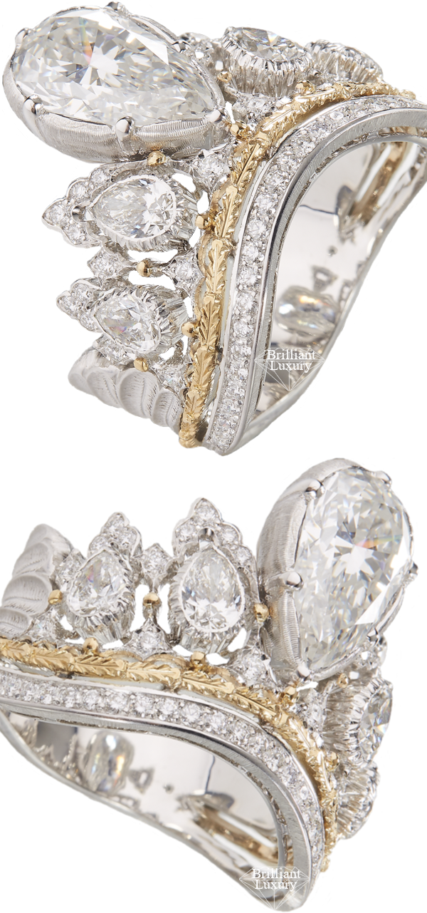 Buccellati Jasmine Ring 3,6 ct #brilliantluxury
