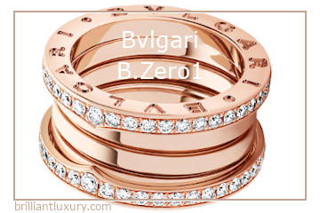 Bvlgari B.Zero1 Ring Collection #brilliantluxury