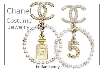 Chanel Costume Jewelry #brilliantluxury