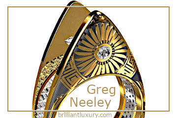 Greg Neeley Wedding Rings #brilliantluxury