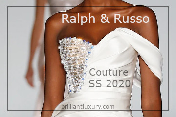 Ralph & Russo Couture SS 2020