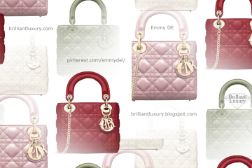 Classic Lady Dior Bags in new colors #brilliantluxury
