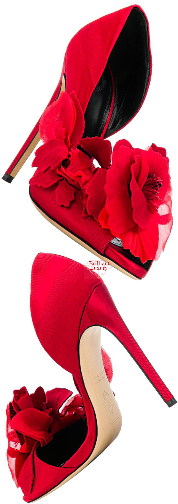 red Sofra pump #brilliantluxury