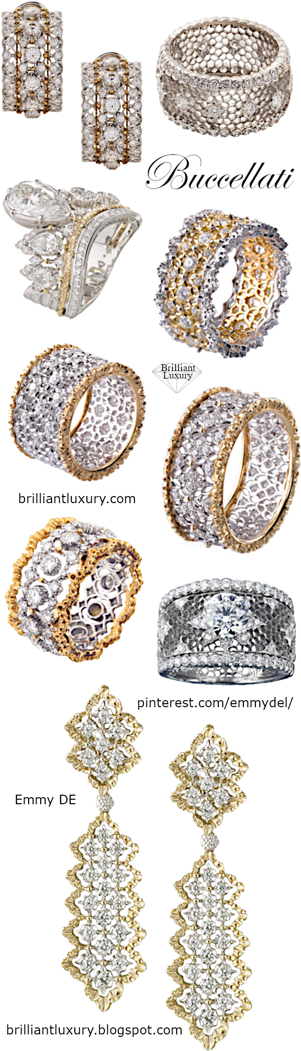 Buccellati Jewelry Collection #brilliantluxury